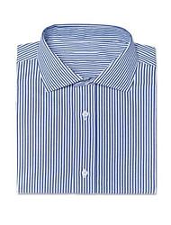cheap -Helston Pinstripe Navy Shir