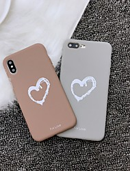 cheap -Case for Apple scene map iPhone 11 X XS XR XS Max 8 Love pattern Simple Frosted TPU All-inclusive phone case Tongxin