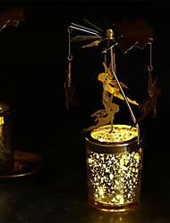 Недорогие -ароматические свечи повернуть подсвечник украшения дома романтика повернуть шторм фонарь 1шт