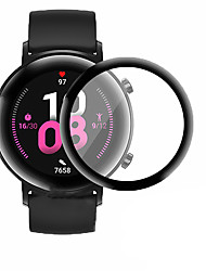 cheap -Screen Protector for Huawei Watch GT2 42mm Anti-Scratch 3D Protective Full Coverage Tempered Glass Screen Film