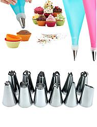 Недорогие -Набор инструментов для украшения торта из нержавеющей стали
