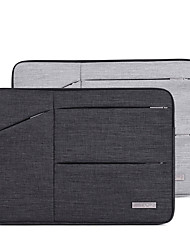 cheap -11.6 Inch Laptop / 12 Inch Laptop / 13.3 Inch Laptop Sleeve Canvas Solid Color for Men for Women for Business Office Water Proof Shock Proof
