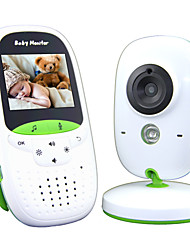 cheap -Baby Monitor 720P 2 HD Display Video Baby Monitor with Camera and Audio IPS Screen 850ft Range 4500 mAh Battery Two-Way Audio One-Click Zoom Night Vision and Thermal Monitor