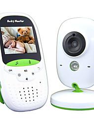 Недорогие -радионяня 720p 2 hd дисплей видео радионяня с камерой и аудио экраном ips Диапазон 850 футов 4500 мАч аккумулятор двусторонняя аудиосвязь с зумом в один клик и тепловизор