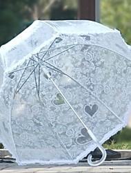 cheap -Fabric / Plastic All Sunny and Rainy Straight Umbrella