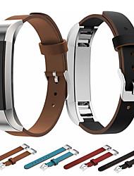 Недорогие -ремешок для часов для fitbit alta hr / fitbit классическая пряжка alta fitbit / бизнес-группа ремешок из натуральной кожи