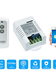 cheap -Smart Switch AC220V 1CH Relay Switch /Mobile APP Control / 2.4G WIFI / WIFI RF Remote ON/OFF APP Voice Control/Timing Function / State Feedback