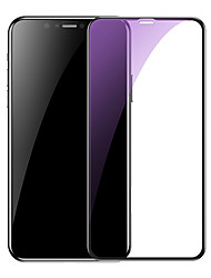 cheap -Baseus 0.3mm Full-screen and Full-glass with anti-blue light Tempered Glass Film(2pcspackPasting Artifact) for iP6.1inch2019Black