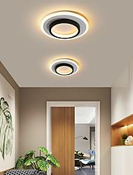 cheap -2-Light Nordic Minimal Corridor Lamp Corridor Lamp Kitchen Entrance Hall Porch Balcony Lamp Circular Ceiling Lamp Household Lamps