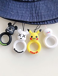 cheap -Universal new creative design cartoon mobile phone ring lanyard