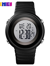 Недорогие -SKMEI Муж. электронные часы Цифровой Спортивные силиконовый Черный / Зеленый / Розовый 50 m Защита от влаги Календарь Секундомер Цифровой На открытом воздухе - Черный Белый Зеленый / Два года
