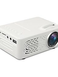cheap -WAZA YG814  USB HDMI AV SD Mini Portable HD LED LCD Projector Beamer Home Media Movie Player Support 1080P AV USB SD Card 320 x 240 HDMI / USB / AV / CVBS for Home School Office