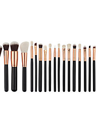 cheap -Miyaup 20 eye professional makeup brush sets pink and black cosmetic tools eye shadow brush.