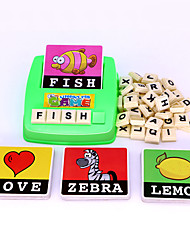 cheap -Educational Flash Card Cute Easy to Carry Youth Plastic Kids Boys' Girls' Toy Gift 1 pcs