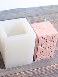 abordables -modèle créatif bougie silicone moule main aromathérapie bougie gypse diy moule en silicone
