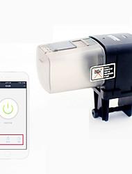 Недорогие -Аквариумы Кормушка для рыб Аквариум Хранение продуктов питания Кормушка для рыб Автоматический WIFI Пластик 1 шт.
