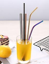 Недорогие -Drinkware Соломинки Нержавеющая сталь Компактность На каждый день