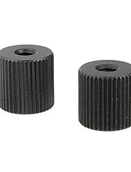 cheap -CAMVATE Double-ended 1/4-20 Female Thread Screw Nut For Extension Arm (2 Pieces) C2314