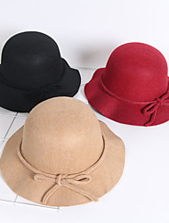 cheap -Women's Active Basic Cute Cotton Sun Hat-Solid Colored All Seasons Black Red Navy Blue