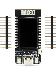 cheap -TTGO T-Display ESP32 CP2104 WiFi bluetooth Module 1.14 Inch LCD Development Board LILYGO for Arduino
