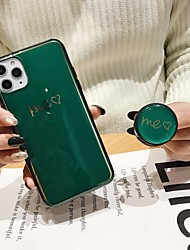 cheap -You Me Heart Case For Apple iPhone 11 / iPhone 11 Pro / iPhone 11 Pro Max with Stand / Ultra-thin / Pattern Back Cover Word / Phrase TPU