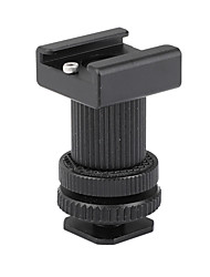cheap -CAMVATE Double-ended Cold Shoe Mount Bracket Adapter C2317