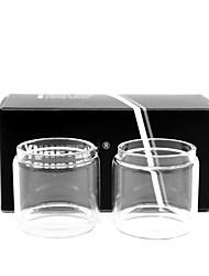 abordables -yuhetec gros tube de verre pour aspire cleito 120 atomiseur 2pcs