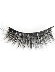 cheap -Eyelash Extensions 1 pcs Best Quality Pro Natural Safety Fiber Date Professioanl Use Party / Cocktail Full Strip Lashes Natural Long - Makeup Daily Makeup Party Makeup Smokey Makeup Fashion Modern