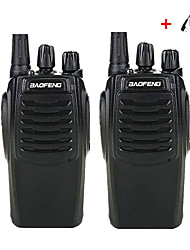 cheap -2PCS Baofeng BF-C1 Walkie Talkie 16CH Two Way Radio Woki Toki UHF Portable Ham Radio CB 5W Flashlight HF Tr headset