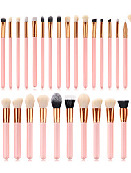 cheap -Professional Makeup Brushes 30pcs Professional Cute Full Coverage Adorable Comfy Artificial Fibre Brush Wooden / Bamboo for Eyeliner Brush Blush Brush Foundation Brush Makeup Brush Eyeshadow Brush