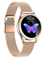 cheap -KW20 Stainless Steel Smartwatch Bluetooth Fitness Tracker for Samsung/ IOS/ Android Phones