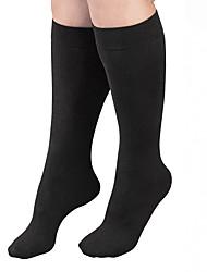 cheap -Women's Medium Socks - Solid Colored / Fashion 80D Black One-Size