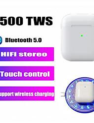 Недорогие -LITBest i500 TWS True Беспроводные наушники Беспроводное EARBUD Bluetooth 5.0 С подавлением шума Стерео Двойные драйверы