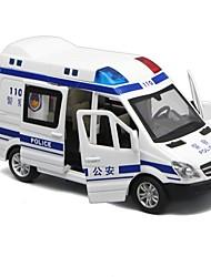cheap -1:32 Toy Car Car Police car New Design Metal Alloy All Boys' Girls' 1 pcs