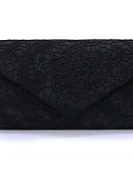 cheap -Women's Zipper Polyester Clutch Black / White / Blue