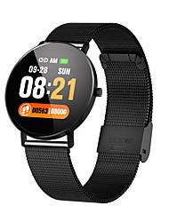 Недорогие -Жен. электронные часы На каждый день Мода Черный Серебристый металл Золотистый сплав силиконовый Цифровой Черный Золотой Серебряный Защита от влаги Bluetooth Smart 30 m 1 комплект Цифровой