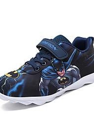 Недорогие -Мальчики Удобная обувь Синтетика Спортивная обувь Большие дети (7 лет +) Беговая обувь Синий / Розовый Весна