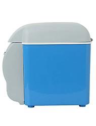 Недорогие -7.5l 12v мини холодильник холодильник теплее портативный автомобильный холодильник нагревание вверх и вниз автомобильный холодильник 5 с