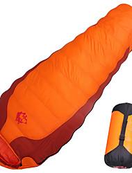 cheap -Jungle King Sleeping Bag Outdoor Camping Mummy Bag -10 °C White Duck Down Lightweight Ultra Light (UL) 210*80 cm Winter All Seasons for Camping / Hiking / Caving