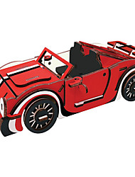 cheap -3D Puzzle Metal Puzzle Model Building Kit Car DIY Natural Wood Classic Kid's Adults' Unisex Toy Gift