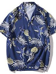abordables -Chemise Homme, Fruit Bleu Marine
