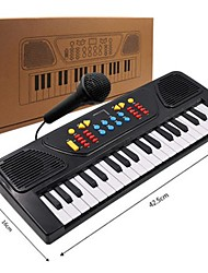 cheap -Electronic Keyboard Piano Fun With a Microphone Kid's Gift Boys' Girls' Gift