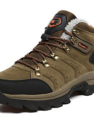cheap -Men's Comfort Shoes PU Fall & Winter Athletic Shoes Hiking Shoes Brown / Army Green / Gray