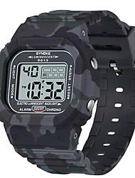 Недорогие -SYNOKE электронные часы Цифровой Спортивные Стильные силиконовый 30 m Защита от влаги Календарь ЖК экран Цифровой На открытом воздухе Мода - Черный Зеленый Серый
