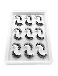 cheap -Eyelash Extensions 1 pcs Best Quality Pro Natural Safety Plastic Performance Date Casual / Daily Full Strip Lashes Natural Long - Makeup Daily Makeup Party Makeup Smokey Makeup Fashion Modern Cosmetic