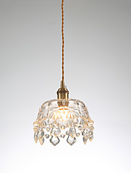 cheap -1-Light 19 cm Mini Style Pendant Light Copper Mini Electroplated Artistic / Chic & Modern 110-120V / 220-240V