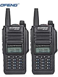 Недорогие -2 шт. Baofeng bf-a58 рация ip68 водонепроницаемый 128-канальный двухдиапазонный uhf укв два передатчика радио fm портативный cb радиолюбительская станция