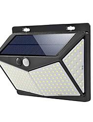 Недорогие -солнечные фонари на открытом воздухе 208 ledoutdoor человека датчик движения лампа беспроводной датчик движения огни с 270 широкоугольный ip65 водонепроницаемый