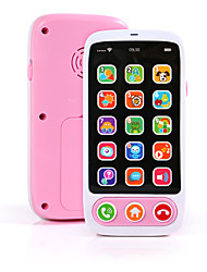cheap -Toy Phone Educational Toy Electronic Organ Y-phone Rechargeable Music Lovely Simulation Music & Light Education with Screen Kid's Baby Boys' Girls' 1 pcs Toy Gift