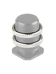 Недорогие -Camvate 5 / 8-27 контргайки для винта микрофона 2 шт. c1954